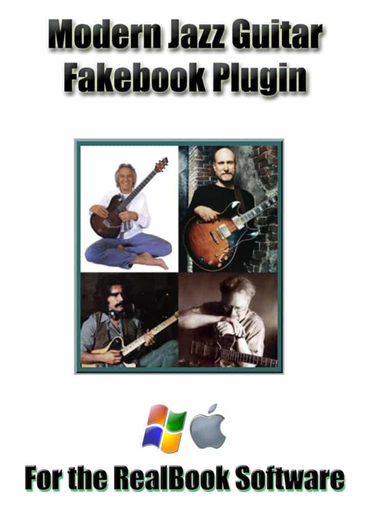 Modern Jazz Guitar Volume 1 Plugin for the RealBook Software