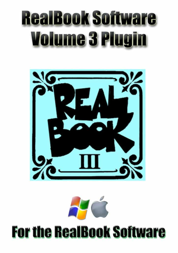 RealBook Software Plugin for the RealBook Volume 3