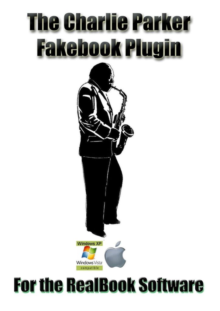 Order the Charlie Parker Fake Book Software Plugin from RealBook Software.com