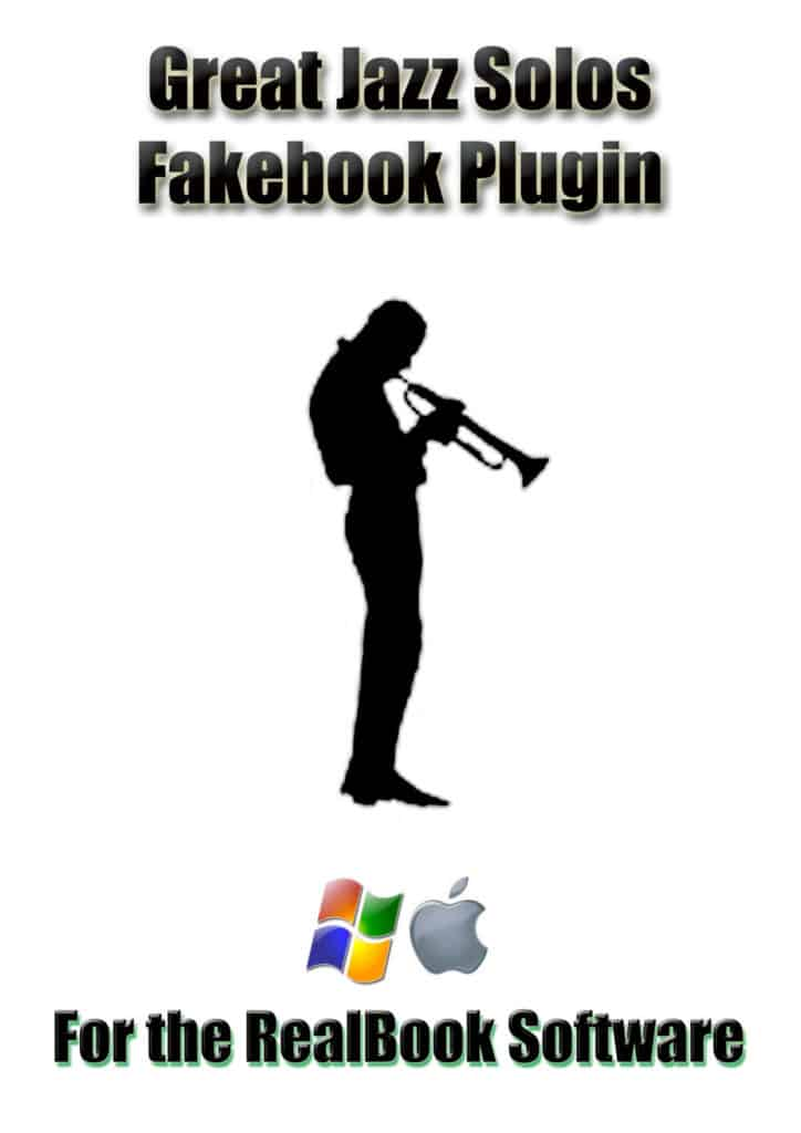 Order the Great Jazz Solos Fake Book Software from RealBook Software.com