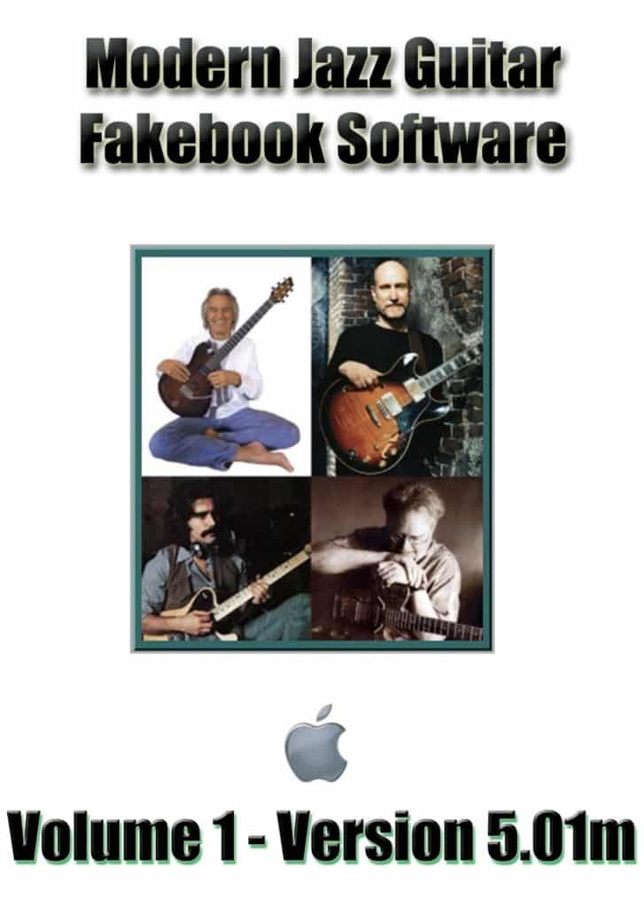 Order the Modern Jazz Guitar Volume 1 for Windows from RealBook Software.com