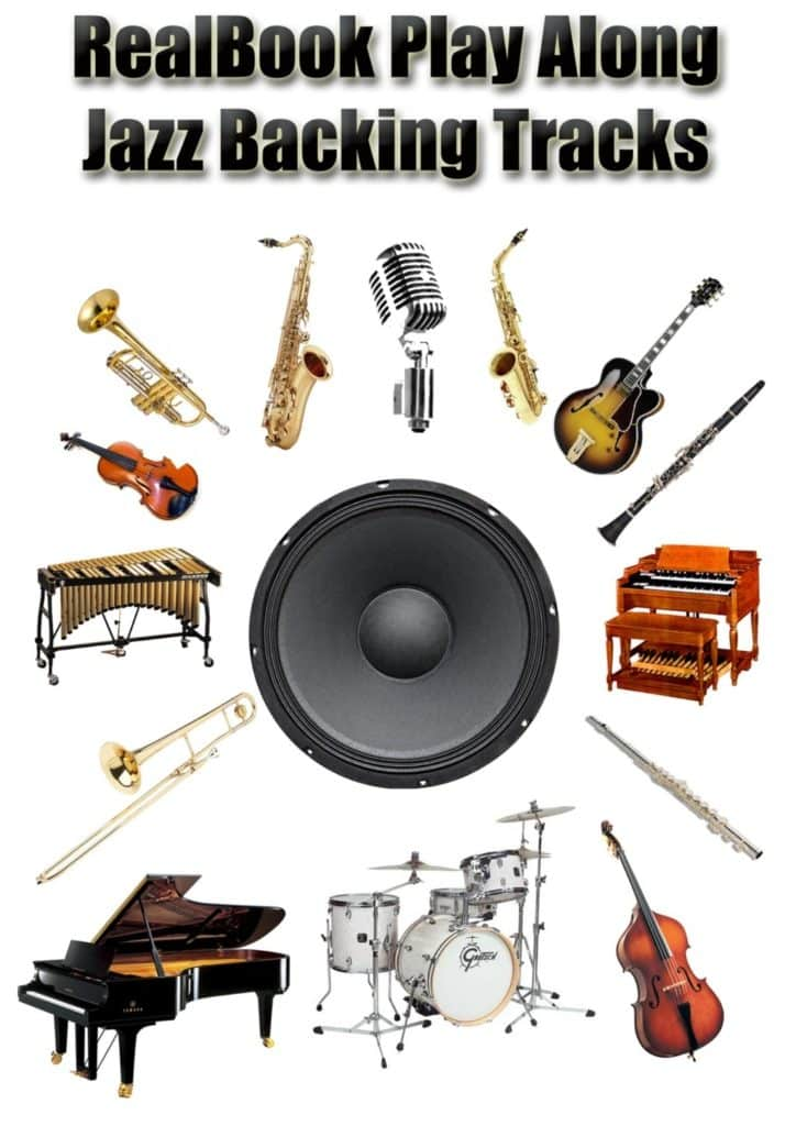 Real Book Jazz Play Along Backing Tracks