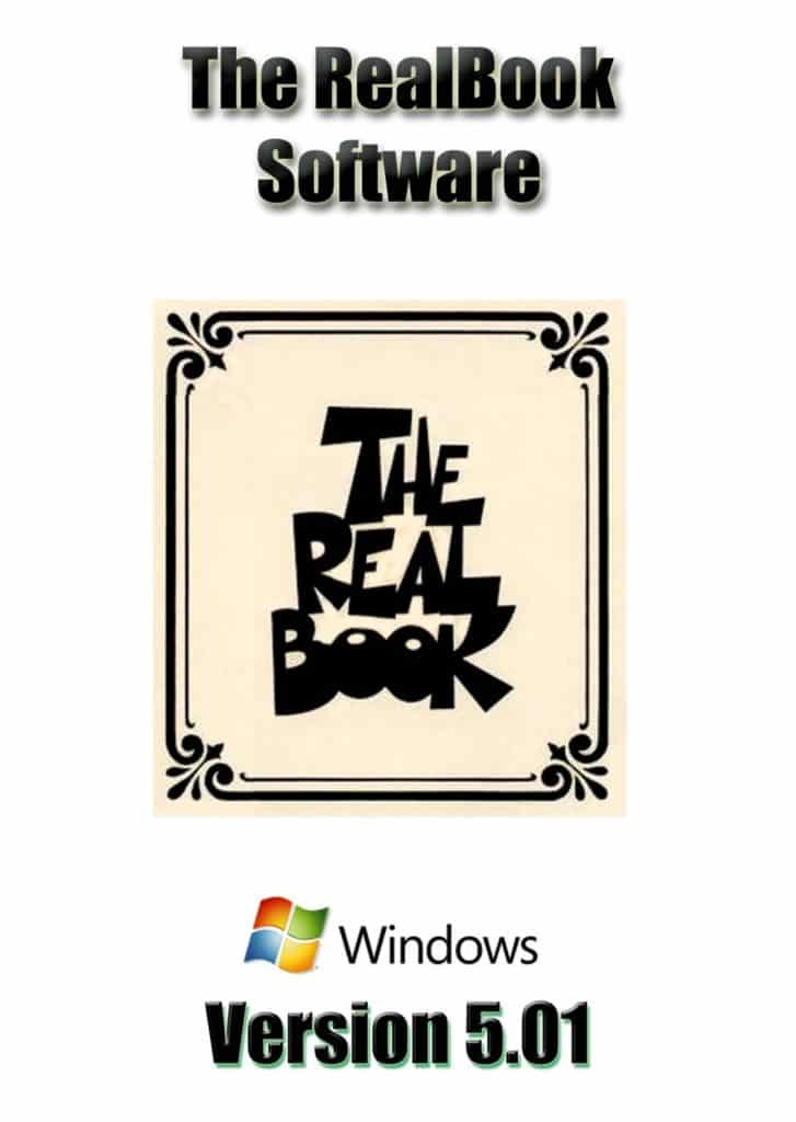 Real Book Software Volume 1 For Windows