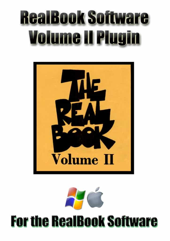 Real Book Software Volume 2 Plugin