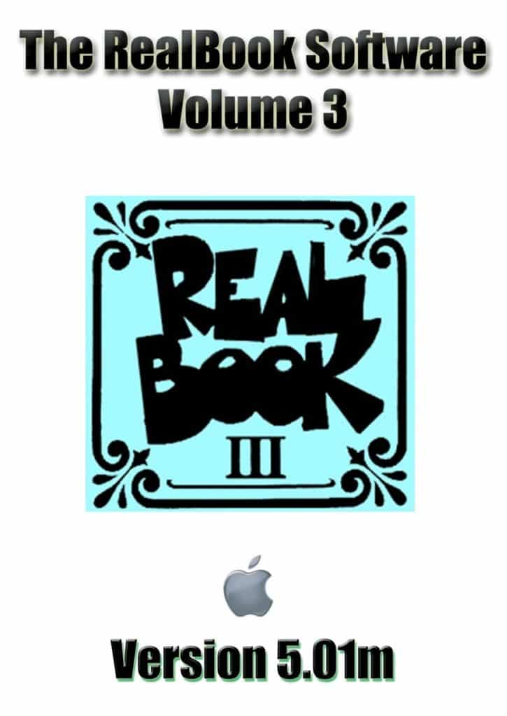 Real Book Software Volume 3 For Mac
