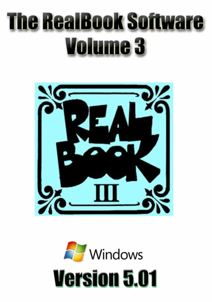 Real Book Software Volume 3 For Windows